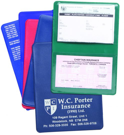 Regular 2 Pocket Licence Liability Card Holder